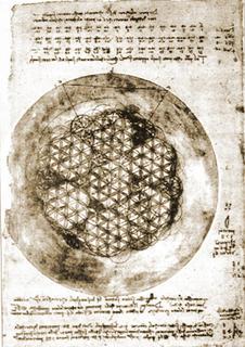 Il Fiore della Vita nei manoscritti di Leonardo da Vinci